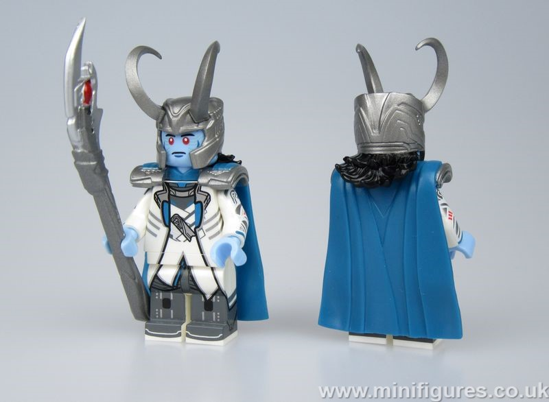 Ice Loki BF x Rex Custom Minifigure