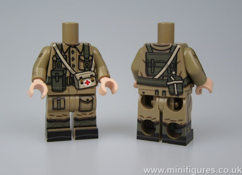 TMC WWII British Medic Body