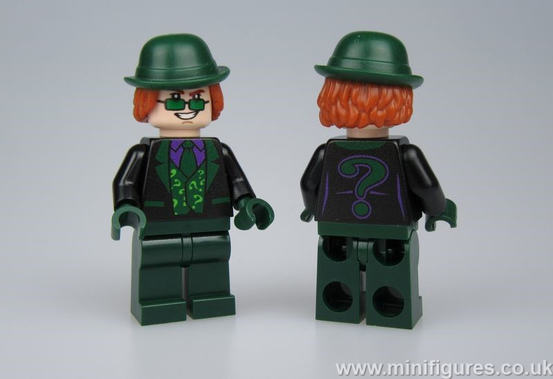 Black Riddler OLS Custom Minifigure
