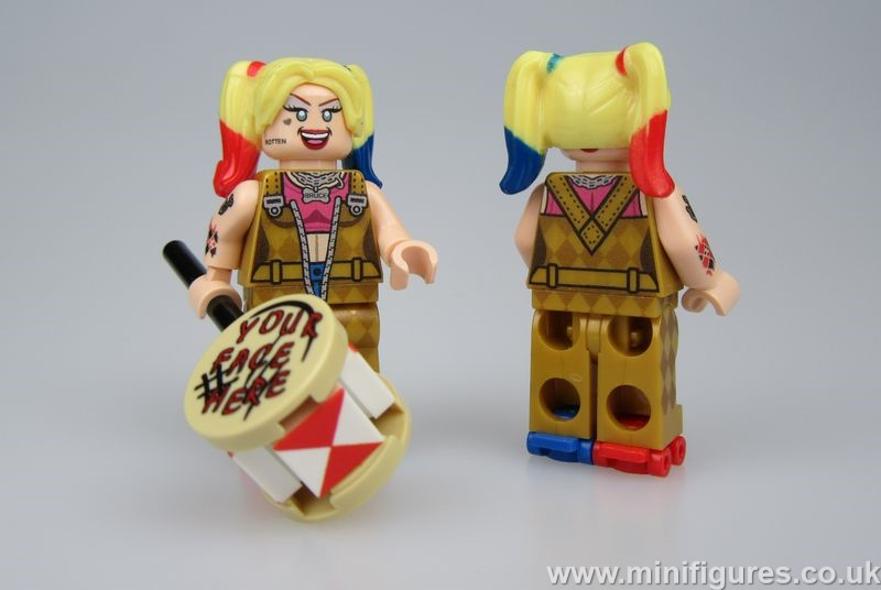 Harley Quinn Birds of Prey OLS Custom Minifigure