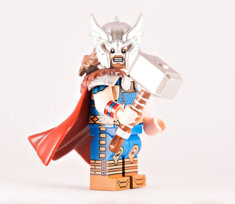 Mystic Thunder BF Custom Minifigure
