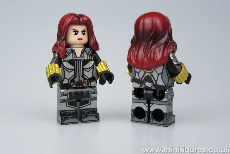 Black Widow LeYiLeBrick Custom Minifigure