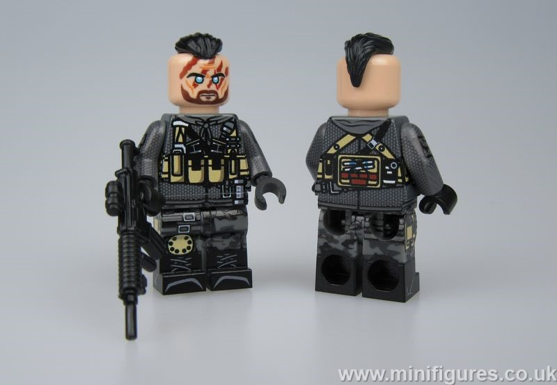 Call of Duty ZZ102 LeYiLeBrick Custom Minifigure