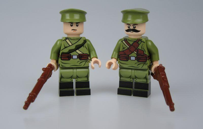 LYL WW1 Russia Soldiers