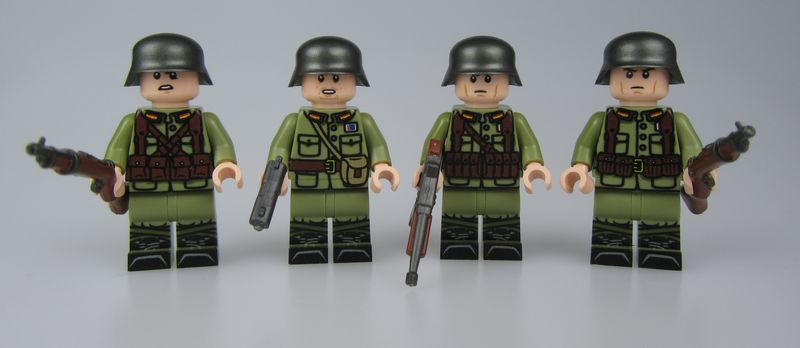 LYL WW2 Chinese Soldiers
