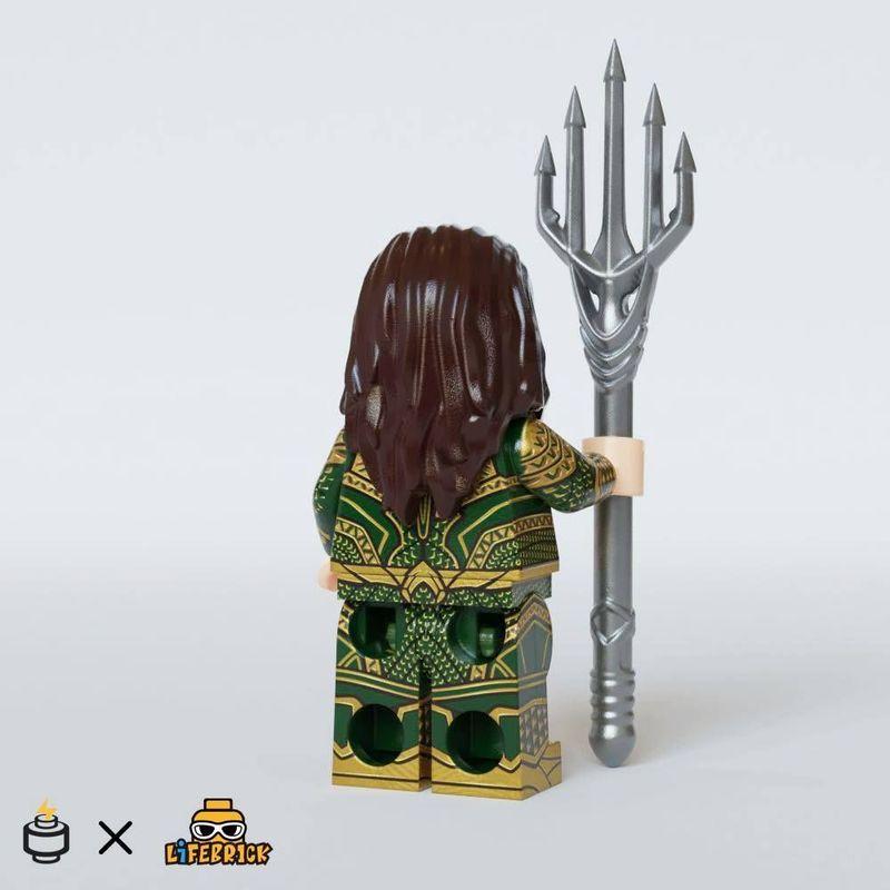 Aquaman Jaka Brick x LB Custom Minifigure
