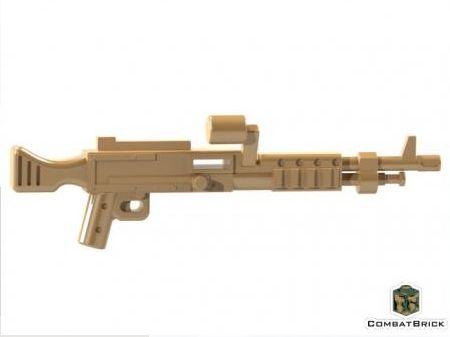 CombatBrick M240 Machine Gun Dark Tan