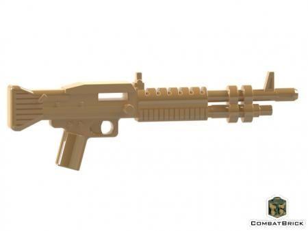 CombatBrick M60 General Purpose Machine Gun Dark Tan