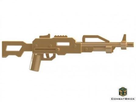 CombatBrick Russian PKP Pecheneg Machine Gun Dark Tan