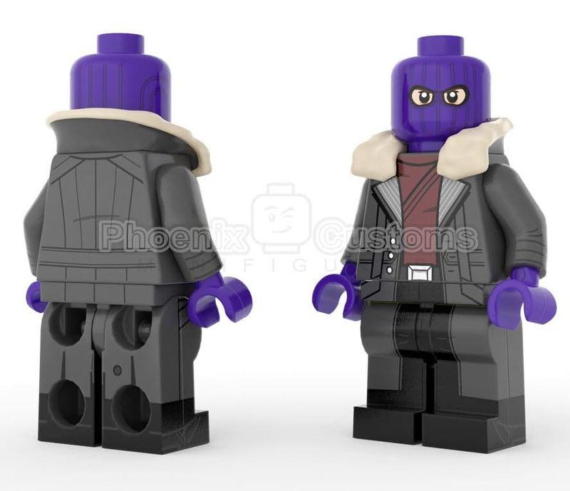 Hooded Aristocrat PC Custom Minifigure