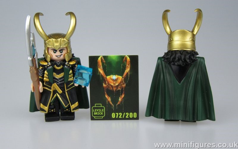 Loki LeYiLeBrick Full Custom Minifigure