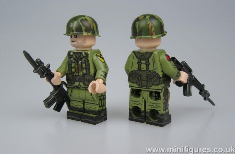TMC Lt. Colonel Moore Minifigure