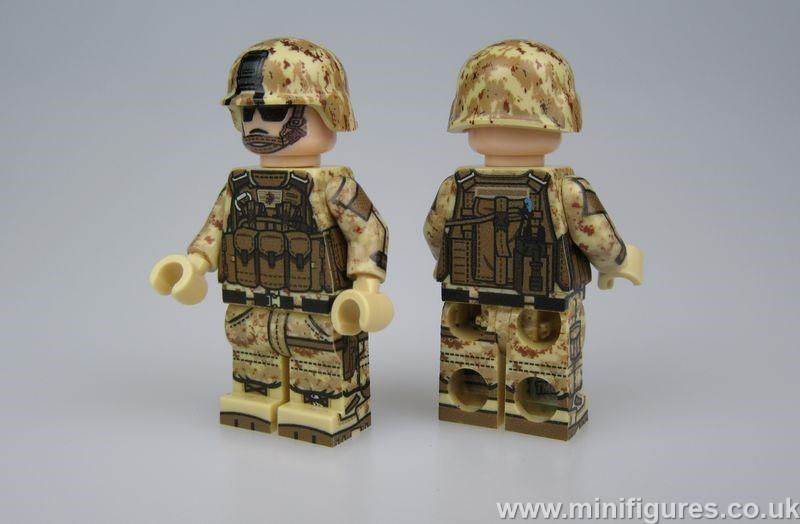 TMC MARPAT Marine Minifigure (Rifleman)