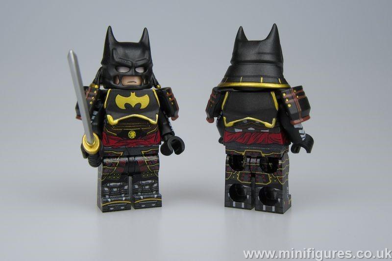 Batman Ninja Pad LeYiLeBrick Custom Minifigure