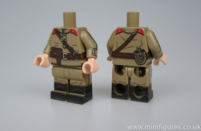TMC WWII Russian Officer Body