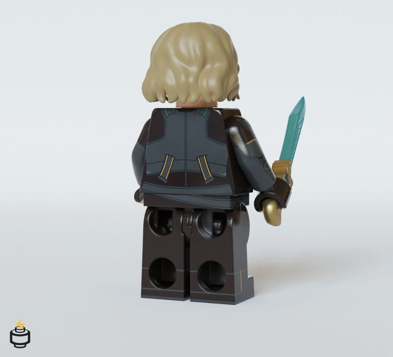 Sylvie Jaka Brick Custom Minifigure