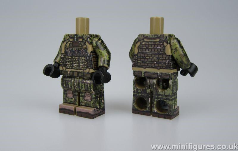TMC Modern U.S. SWCC Combat Body (Dark Tan)